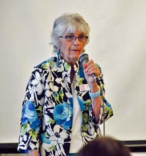 State Historian Carol Bailey